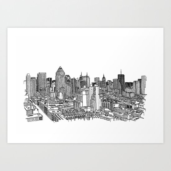 New York View 2 Art Print