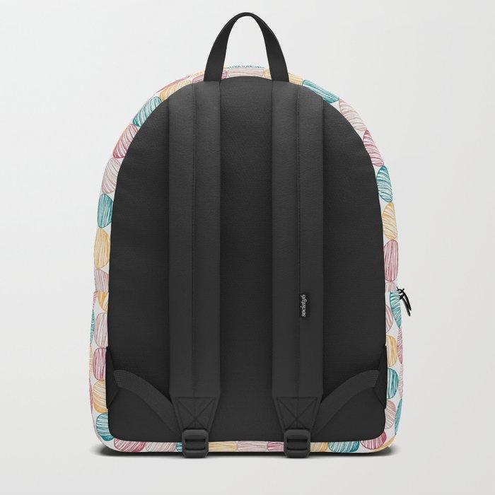 Scrawled Polka Dots Backpack