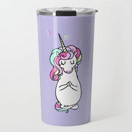 NAMASTE Unicorn Travel Mug
