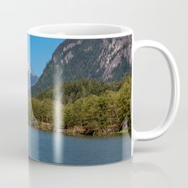 Cove at the  Squamish's harbor by Alex Lyubar Coffee Mug