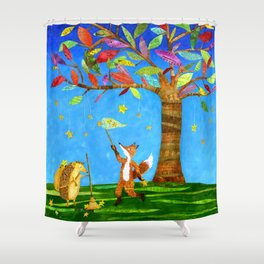 Starkeepers Shower Curtain