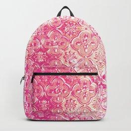 Pink Metallic Ombre Backpack