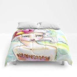 Lotus Flower Girl Comforters