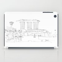 singapore iPad Cases featuring Singapore by Dario Mabritto