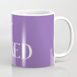 Get Naked - Purple Coffee Mug