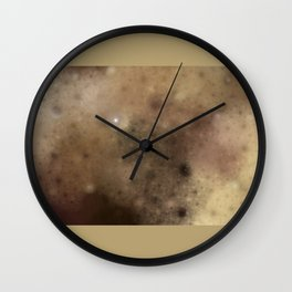 Surface of the moon ....  (A7 B0174) Wall Clock