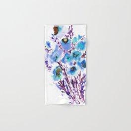 Bouquet Blue Hand & Bath Towel