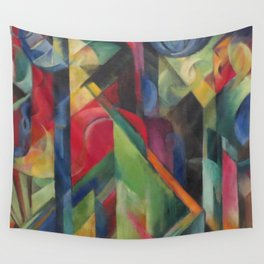 "Franz Marc ""Stables"" Wall Tapestry"