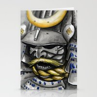 samurai Stationery Cards featuring Samurai by rchaem