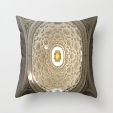 Bernini's San Carlino Throw Pillow