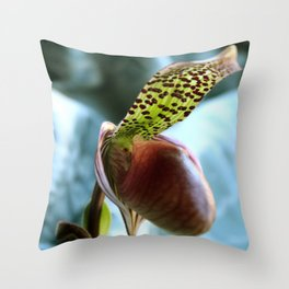 Another Fairytale Slipper Throw Pillow