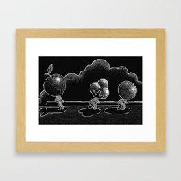 Water War Framed Art Print