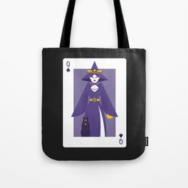 Queen of Spades - Queen Witch Tote Bag