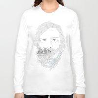 sailor Long Sleeve T-shirts featuring sailor by küçükbakkal