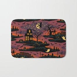 Halloween Night - Bonfire Glow Bath Mat