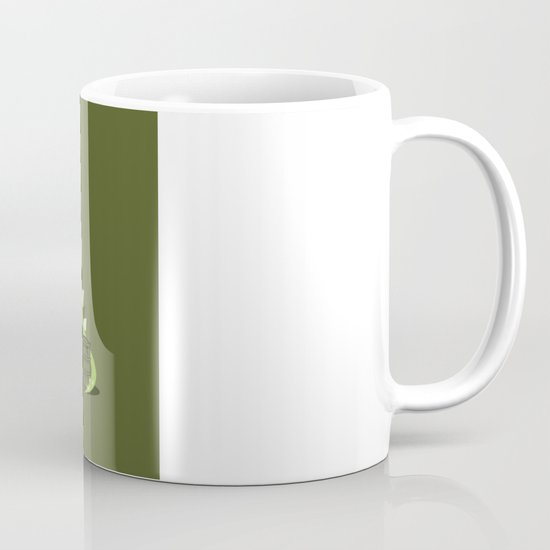 Crude oil comes from dinosaurs Mug