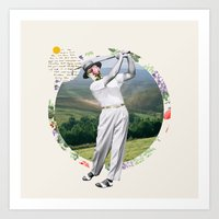 golf Art Prints featuring Golf by Oleg Borodin