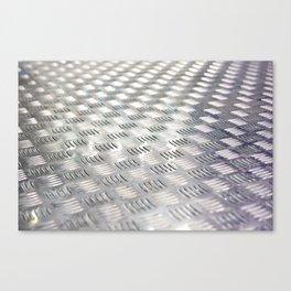 Floor metal surface Canvas Print