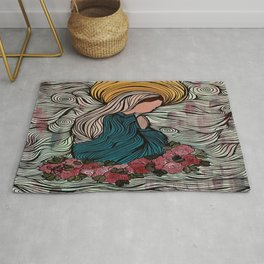 Mother Mary Rug