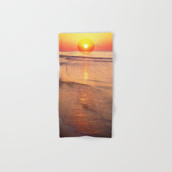Sunrise Over Ocean Hand & Bath Towel