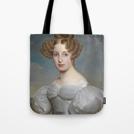 Portrait of Elise Dorothea Friederike by Ernst Thelott Tote Bag