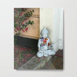 Street Buddha Metal Print