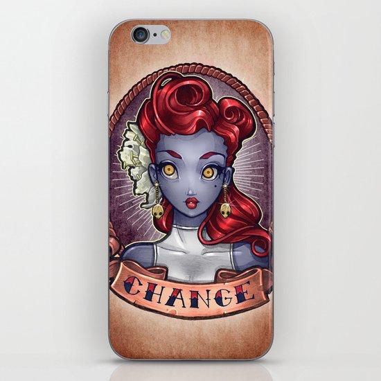 CHANGE pinup iPhone & iPod Skin