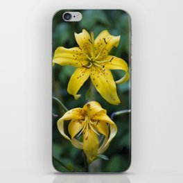 Floral Print 055 iPhone Skin