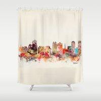 florida Shower Curtains featuring orlando florida by bri.buckley