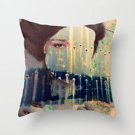 Countenance Sequence 2 Throw Pillow