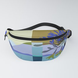 African Lily of the Nile Fanny Pack