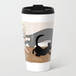 Furred Frenzy - Cat Rampage Travel Mug
