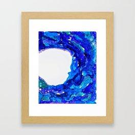 W A V E S Framed Art Print