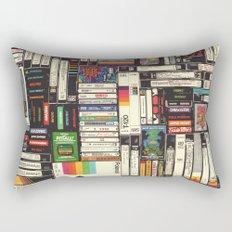 Cassettes, VHS & Atari Rectangular Pillow