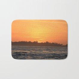 Tybee Island Sunset Bath Mat