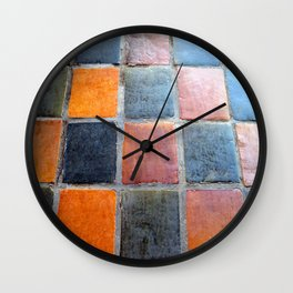 Royal Tiles  Wall Clock