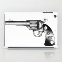 gun iPad Cases featuring Gun by nohholmez