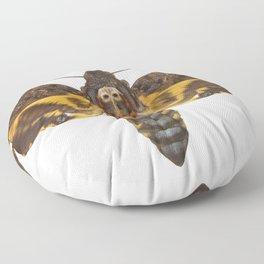 Greater Death's Head Hawkmoth Floor Pillow
