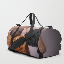 Different color shell Duffle Bag