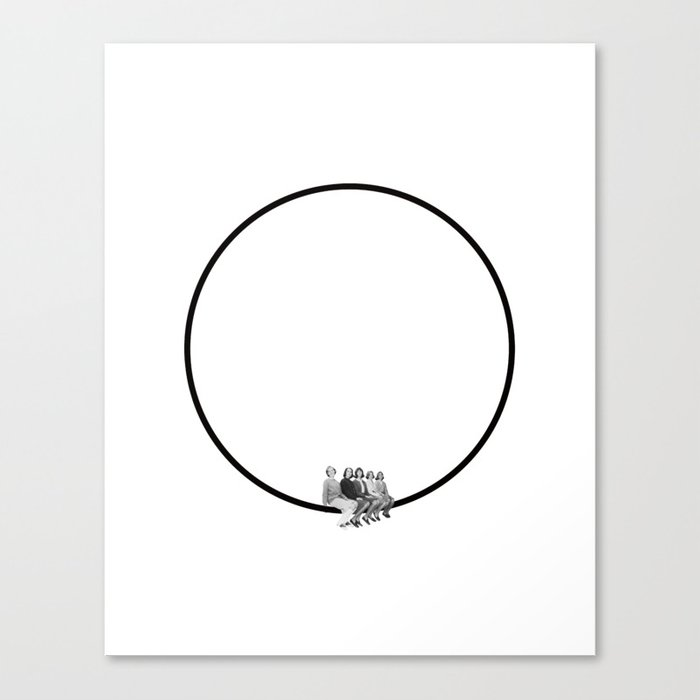 Circle of Friends Leinwanddruck
