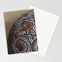 Peru carving Stationery Cards