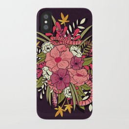 Jungle Bouquet 001 iPhone Case