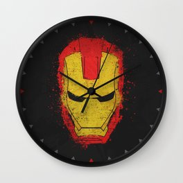 Iron Man splash Wall Clock