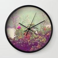 cape cod Wall Clocks featuring Cape Cod by Antha P