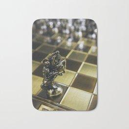 Chess horse Bath Mat