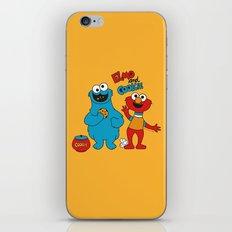 Elmo & Cookie Fan Art iPhone & iPod Skin
