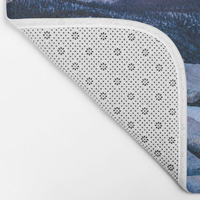 Lenticular Sunset Bath Mat