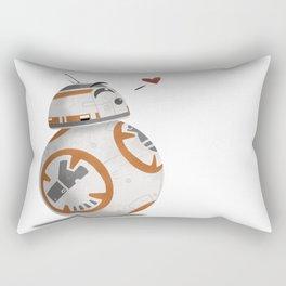 Droid Kisses Rectangular Pillow