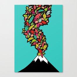 Volcanic Autumn Canvas Print