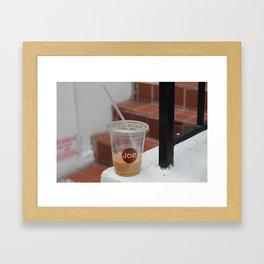Cuppa Joe Framed Art Print